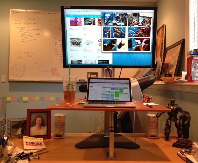 Kangaroo Standing Desk Brian Alvey