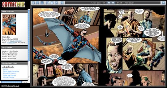ComicMix: Online Comic Book Reader 2 0 – Brian Alvey